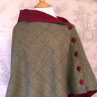 Juniper Red Cape